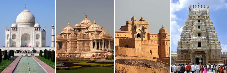 10 Days Golden Triangle Package With Kerala Tour