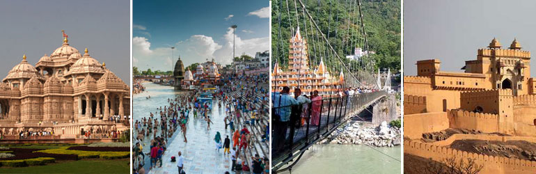 6 Days Golden Triangle Package With Haridwar Rishikesh Tour