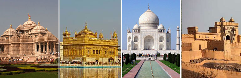 11 Days Golden Triangle Package With Golden Temple, Dhramshala Tour