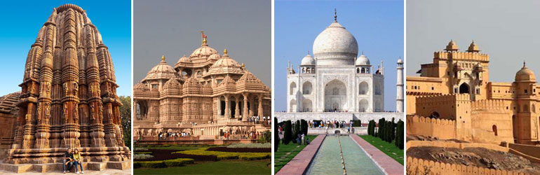 10 Days Golden Triangle Package With Sun Temples Tour