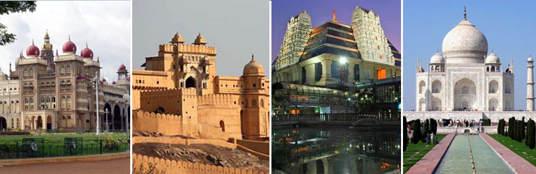 9 Days Golden Triangle Package With Bangalore Mysore Hasan