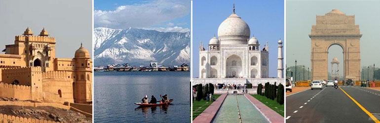 8 Days Golden Triangle Package With Srinagar Tour